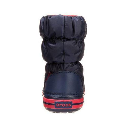 Crocs Kozaki navy/red