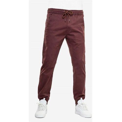 spodnie REELL - Reflex Rib Pant Aubergine (AUBERGINE) rozmiar: M normal, 1 rozmiar