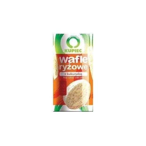 Kupiec Wafle ryżowe z kukurydzą a'12 120 g