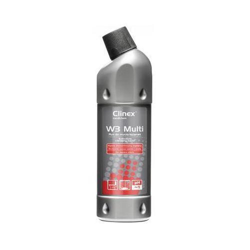 Preparat CLINEX W3 Multi 1L 77-076, do mycia sanitariatów i łazienek, skoncentrowany, CL77076