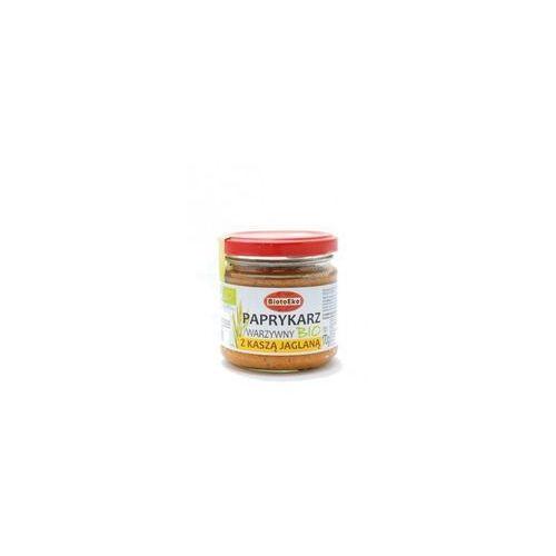 Paprykarz wegetariański z kaszą jaglaną 170g