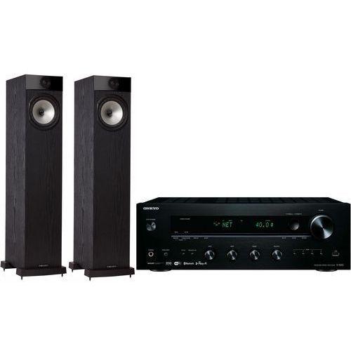 Zestaw stereo tx-8250b + fyne audio f501 czarny marki Onkyo