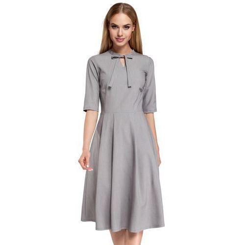 M298 sukienka szara marki Moe