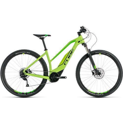"""Cube acid hybrid one 400 rower elektryczny hardtail trapez zielony 19""""   48,3cm (29"""") 2018 rowery górskie"""
