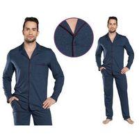 Piżama męska MORIS: granat, kolor niebieski