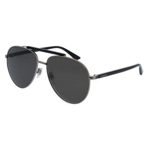 Okulary Słoneczne Gucci GG0014S Polarized 005, kolor żółty