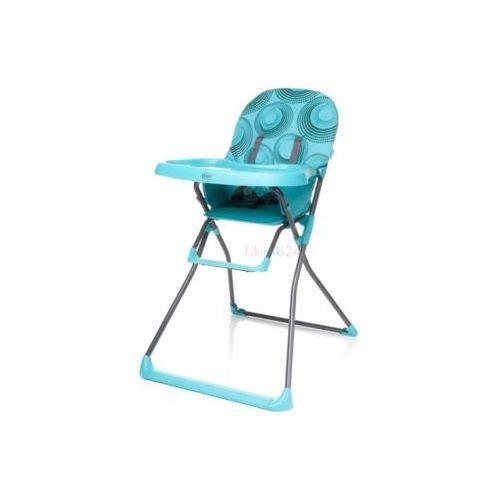 4Baby Krzesełko do karmienia FLOWER turkusowe, 13079