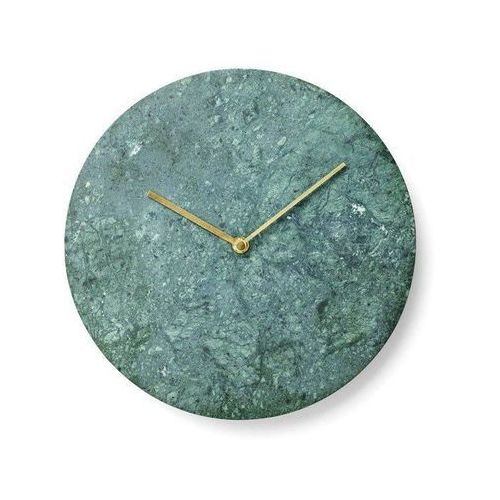 Zegar ścienny Marble Verde Guatemala (5709262962341)