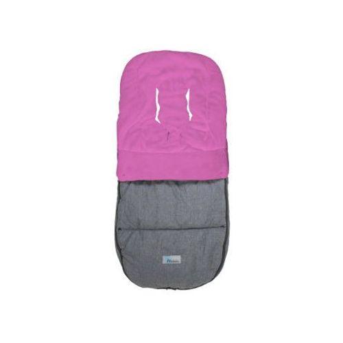 Altabebe śpiworek zimowy alpin do wózka bogaboo i joolz, kolor ciemnoszary-rosa marki Alta bebe