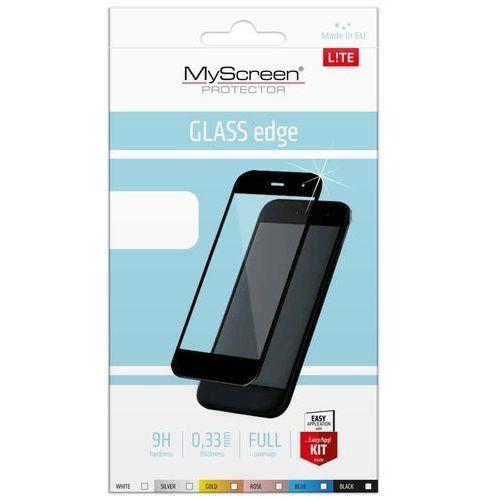 Szkło Hartowane MyScreen Lite Glass Edge Huawei P20 czarne