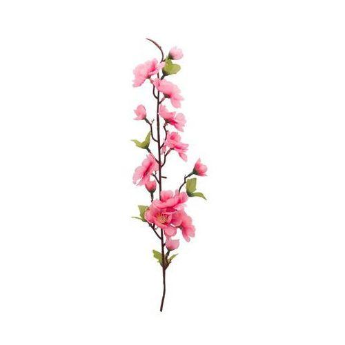Sztuczna gałązka KWIAT JABŁONI różowa 60 cm