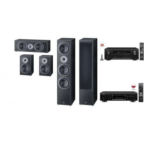 DENON AVR-X1400 + DBT-3313 + MAGNAT S 1002 5.0