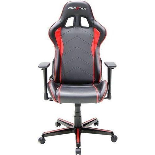 Dxracer krzesło obrotowe formula fh08/nr, czarne/czerwone (fh08/nr) (6949531964419)