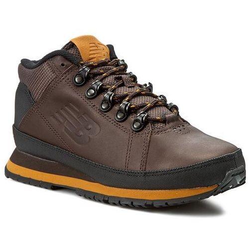 OKAZJA - Półbuty NEW BALANCE - Lifestyle H754BY Brązowy, kolor brązowy