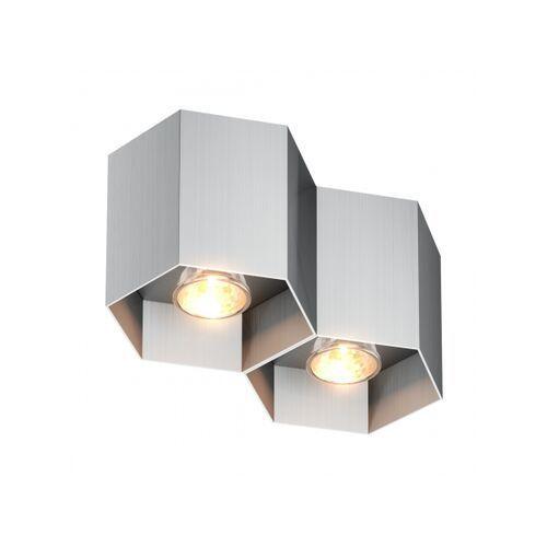 Zuma line Lampa sufitowa polygon cl 2 20036-al