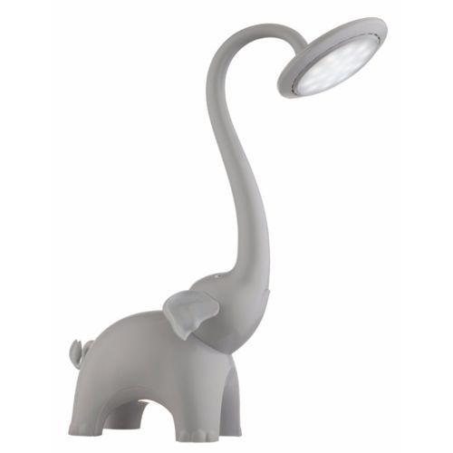 Globo animal i lampa stołowa led siwy, 1-punktowy - design/dziecko - obszar wewnętrzny - i - czas dostawy: od 6-10 dni roboczych marki Globo lighting