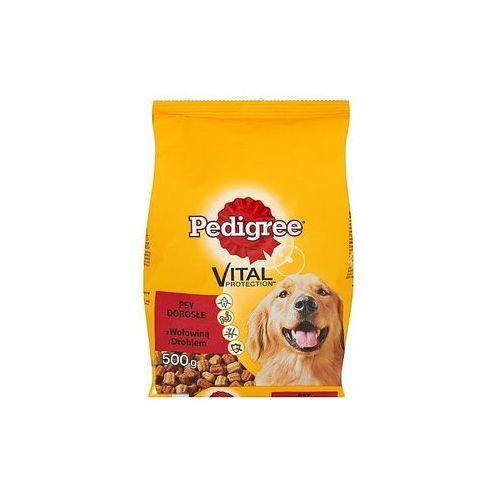 Pedigree Vital Protection Karma dla psów 500g sucha z wołowiną i drobiem Psy dorosłe