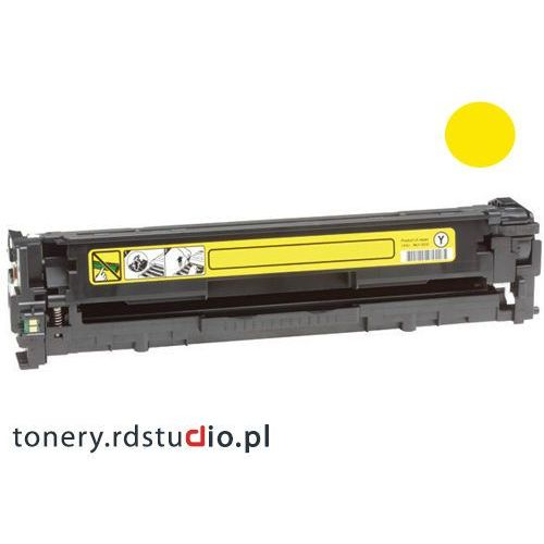 Toner do hp cp1215 cp1515n cp1518ni cm1312mfp - zamiennik hp cb542a yellow p-plus od producenta Quantec