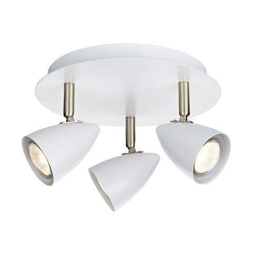 Plafon LAMPA sufitowa CIRO 107412 Markslojd natynkowa OPRAWA okrągła reflektorki białe