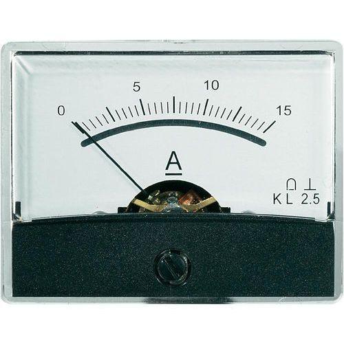 Analogowy wskaźnik panelowy VOLTCRAFT AM-60X46/15A/DC, AM-60X46/15A/DC