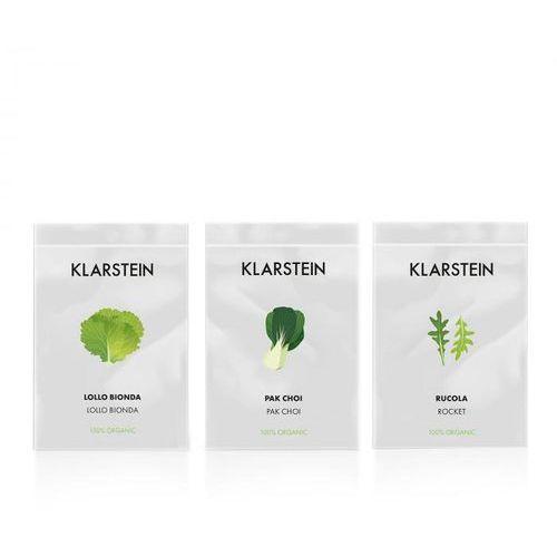 Klarstein growlt seeds salad | 3 paczki nasion: lollo bionda, pak choi, rukola (4060656153938)