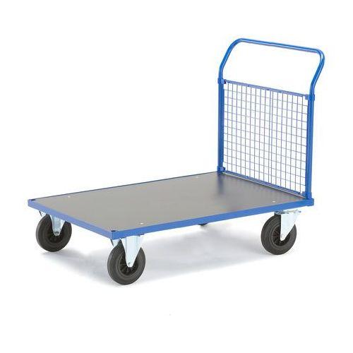 Aj produkty Wózek platformowy, rama końcowa z siatki, 1285x800 mm, bez hamulców