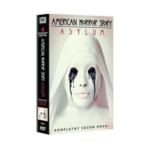 American horror story. asylum, sezon 2 (4xdvd) - brad falchuk, ryan murphy darmowa dostawa kiosk ruchu marki Imperial cinepix