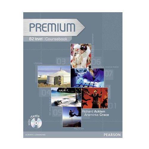 Premium B2 Coursebook (podręcznik) plus Exam Reviser plus iTest CD-ROM, oprawa miękka