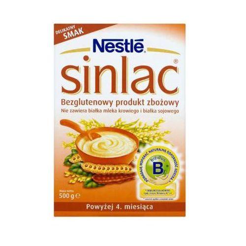 NESTLE 500g Sinlac Bezglutenowy produkt zbożowy 4m+