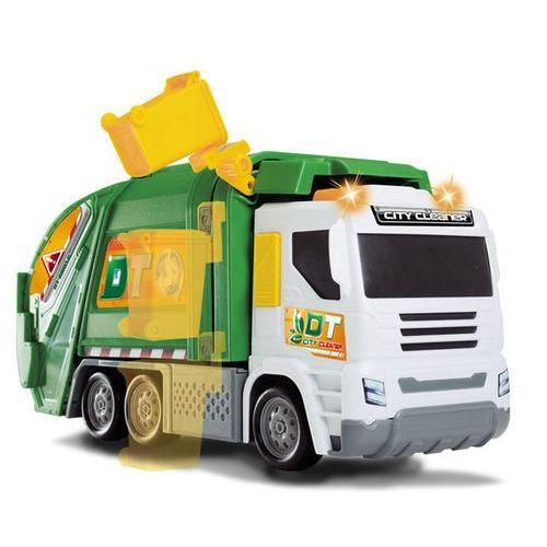 Dickie toys śmieciarka ze światłem i dźwiękiem 374-6002