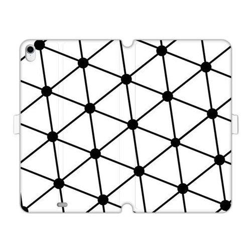 Apple ipad pro 11 - etui na tablet wallet book fantastic - trójkątna siatka marki Etuo wallet book fantastic