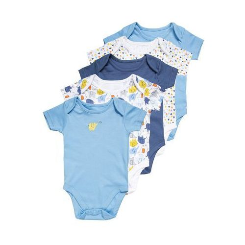 mothercare BOYS ELEPHANT BABY 5 PACK Body brights multicolor, PD507