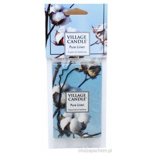 Village Candle - Zapach do samochodu - Board Air (2 pack) - Pure linen, VC115188822