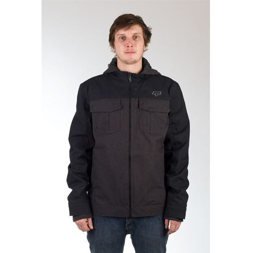 kurtka FOX - Straightaway Jacket Heather Black (243), kolor czarny