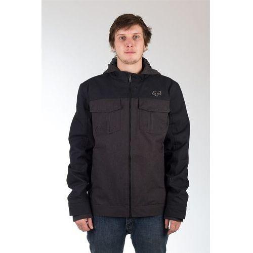 kurtka FOX - Straightaway Jacket Heather Black (243) rozmiar: XL, kurtka