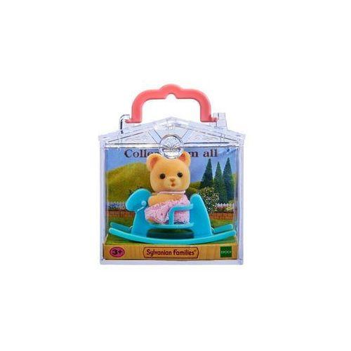 baby carry case (bear on rocking horse) marki Sylvanian families
