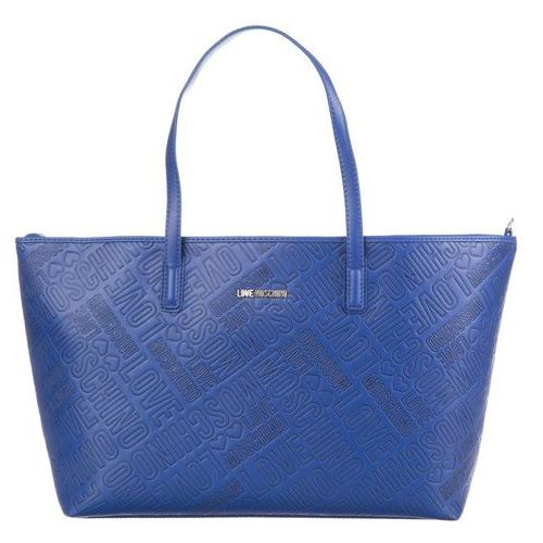 Love Moschino Torebka Niebieski UNI, kolor niebieski