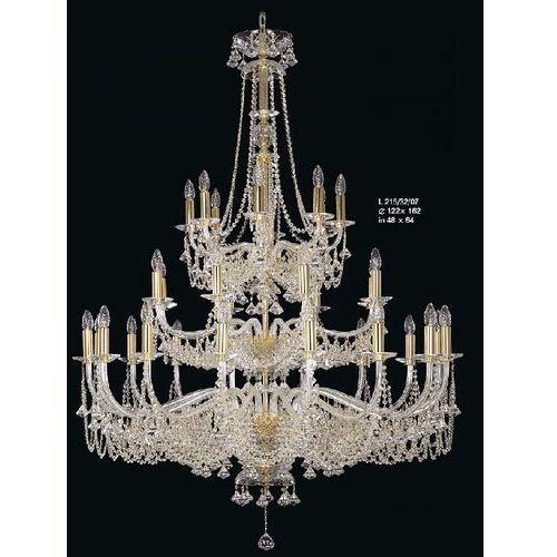 Żyrandol kryształowy pałacowy 32-ramienny - Elite Bohemia