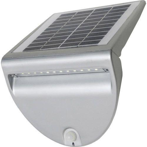 Lutec by eco light Lutec solo zewnętrzny kinkiet led srebrny, 1-punktowy - nowoczesny - obszar zewnętrzny - solo - czas dostawy: od 4-8 dni roboczych