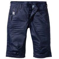 Długie bermudy dżinsowe Loose Fit bonprix ciemnoniebieski