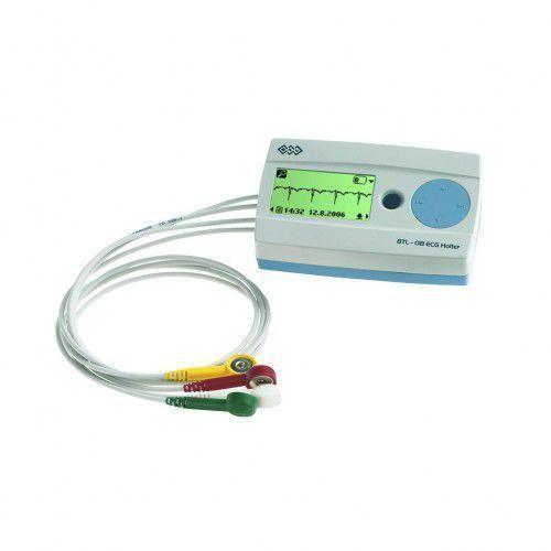 Holter Rejestrator 3-kanałowy R-3 z podglądem zapisu EKG BTL 08