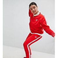 Puma Exclusive To ASOS Plus Taped Side Stripe Track Pants In Red - Red