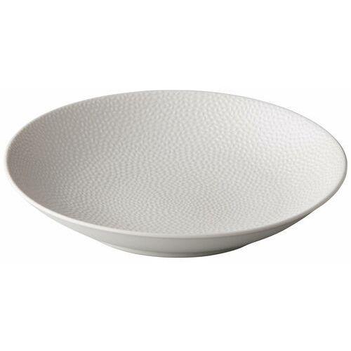 Fine dine Talerz do pasty honeycomb biały | śr. 255 mm