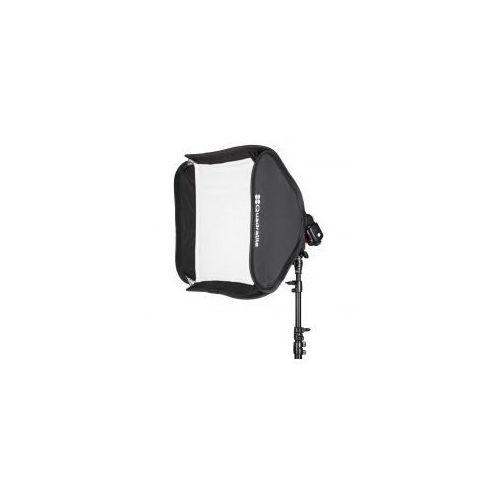 Softbox do lamp reporterskich  litebox 50x50cm wyprodukowany przez Quadralite