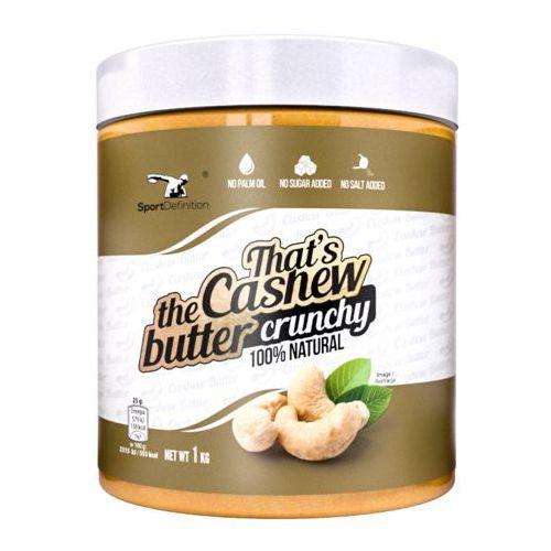 Sportdefinition Sport definition that's the cashew butter crunchy - 1000g
