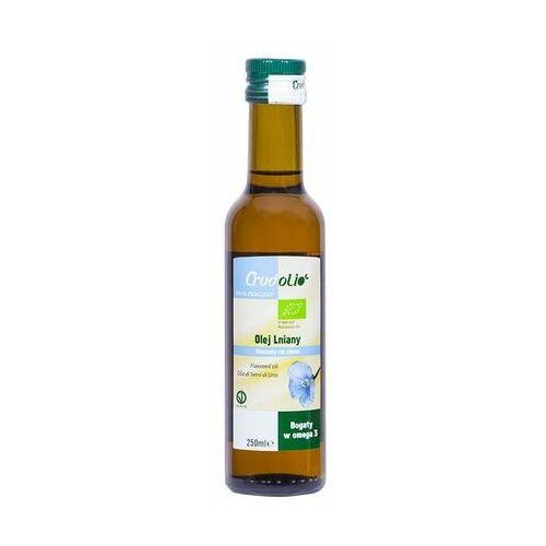 Crudolio Olej lniany tłoczony na zimno bio 250 ml