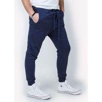 Spodnie dresowe męskie baggy z kieszeniami
