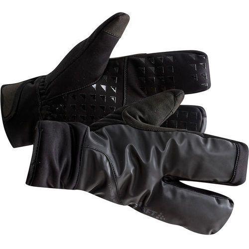 Craft siberian 2.0 rękawiczki rowerowe, black l 2019 rękawiczki zimowe