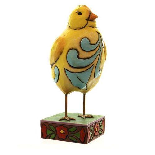 Kurczak wielkanocny kurczaczek feather your nest (chick) 4047078 figurka ozdoba świąteczna marki Jim shore