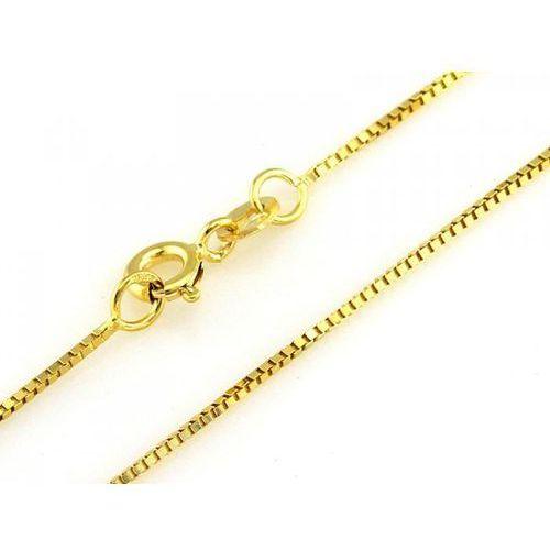 Victoriaw. Złoty łańcuszek au333 45cm